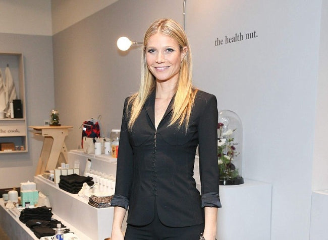 Gwyenth Paltrow in support of eco - friendly wear