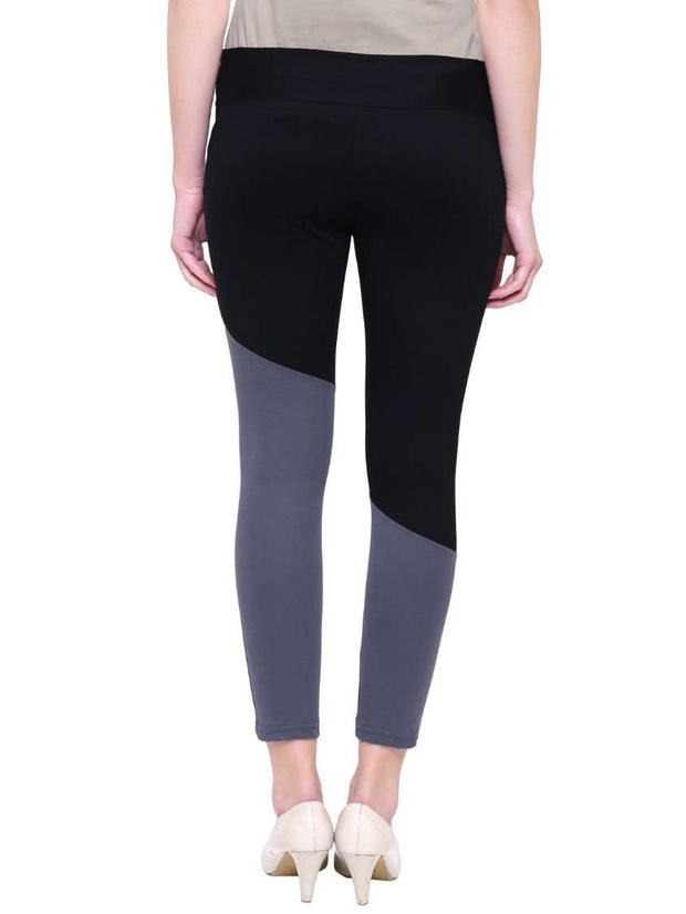 "Black & Grey ""Activewear"" Yoga Pants"