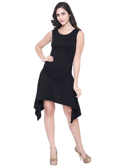 COA Black Hurricane Organic Cotton eco friendly Dress