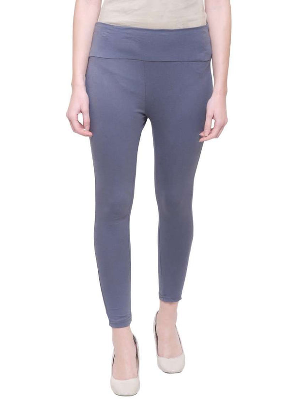 "Grey ""Can't Go Wrong"" Yoga Pants"