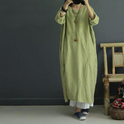 Casual Linen Dress