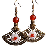 BABAKUD Ethnic Chinese Style Retro Classical Earrings ACCESSORIES