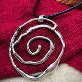 Babakud Ethnic Retro Ancient Silver Necklace ACCESSORIES