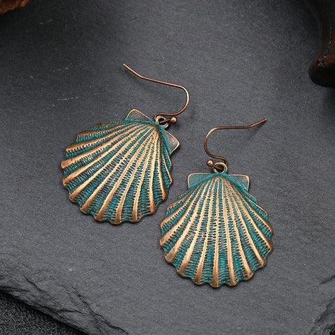 Babakud Fan-Shaped Women Fashion Earrings ACCESSORIES