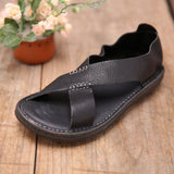 BABAKUD Handmade Flats Leather Shoes For Man & Women 39-44 2019 August New