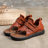 Babakud Handmade Leather Soft Bottom Vintage Sandals 2019 Jun New