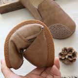 Babakud Handmade Linen Insole Leather Paneled Casual Shoes 2019 July New