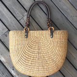 Babakud Handmade Summer Travel Plait Casual Handbag ACCESSORIES