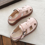 Babakud Hollow Breathable Summer Casual Sandals 2019 Jun New 35 Pink