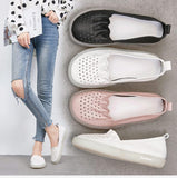 Babakud Leather Summer Flat Retro Casual Shoes 35-41 2019 Jun New