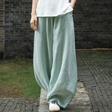 Babakud Loose Casual Linen Shift Pants 2019 Jun New