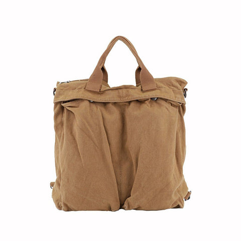 Babakud Rich Features Canvas Casual Messager BagShoulder Bag ACCESSORIES One Size Camel