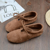 BABAKUD Spring Cotton Linen Retro Flat Casual Shoes 2019 October New 35 Camel