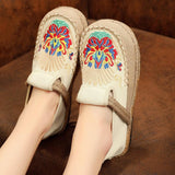 Babakud Summer Retro Straw Linen Embroidery Shoes 2019 Jun New 35 Beige