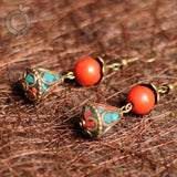 BABAKUD Vintage Ethnic Style Accessories Classical Earrings ACCESSORIES