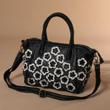 Babakud Vintage Handbag Leather Bag ACCESSORIES One Size Black