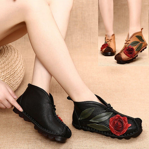 BABAKUD Vintage Handmade Ethnic Flat Velvet Spring Autumn Women's Shoes 2019 October New 35 Black