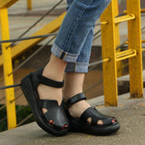 Babakud Women Summer Sandals Casual Wedge Heel Shoes 2019 April New