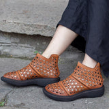 Comfortable Hollow Out Casual Summer Ankle Boots 2019 April New