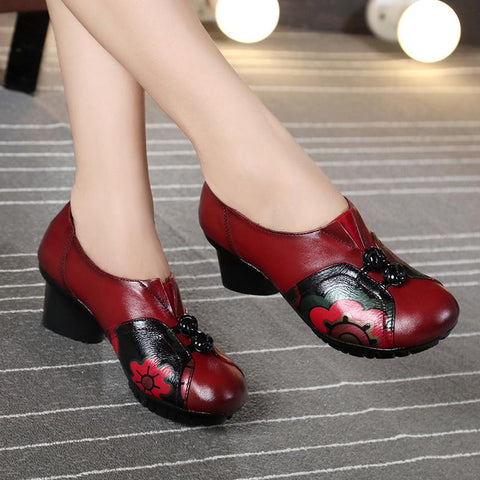 Ethnic Shoes August 2020-New Arrival 35 RED