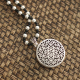 Ethnic style With Imitation Silver Pendant For Necklaces ACCESSORIES Copper Coin