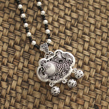 Ethnic style With Imitation Silver Pendant For Necklaces ACCESSORIES Longevity Lock