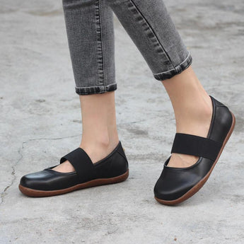Handmade Comfortable Soft Leather Flats Feb 2021 New-Arrival