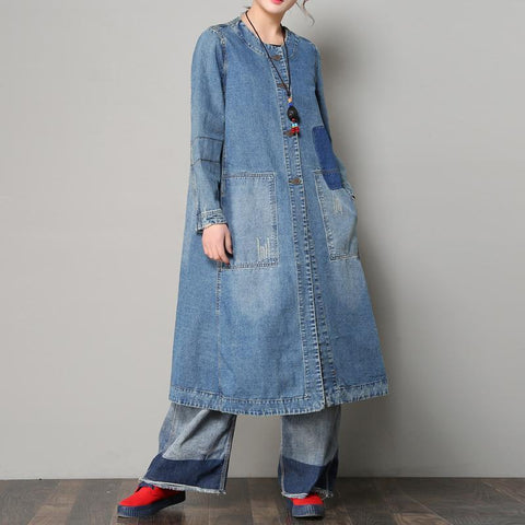 Loose Casual Denim Coat For Women Spring And Autumn Coat