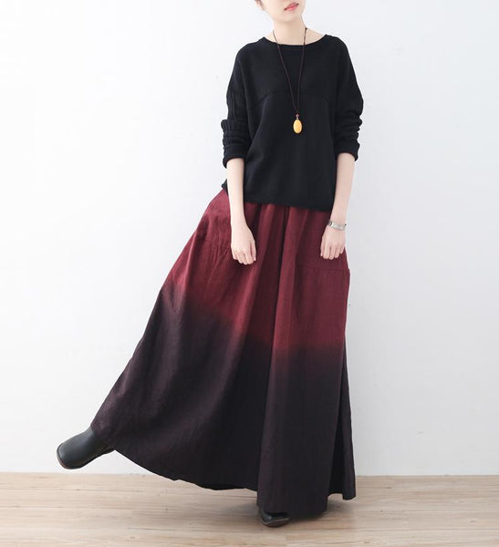 Loose Wide Leg Pants September September 2020 new arrival
