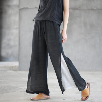 Resting Trousers Bungei Trousers oct BLACK