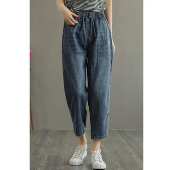 Summer Thin Loose Denim Jeans May 2021 New-Arrival