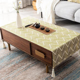 Tablecloth Waterproof Oil-proof Living Room Accessories ACCESSORIES 40*60 Yellow
