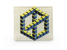Optical Illusion Cube - Yellow