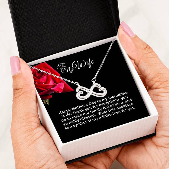 Infinity Necklace - The Perfect Mother's Day Gift for the Wife