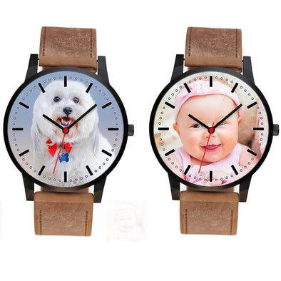 Personalized Photo Designer Watch for Men & Women.
