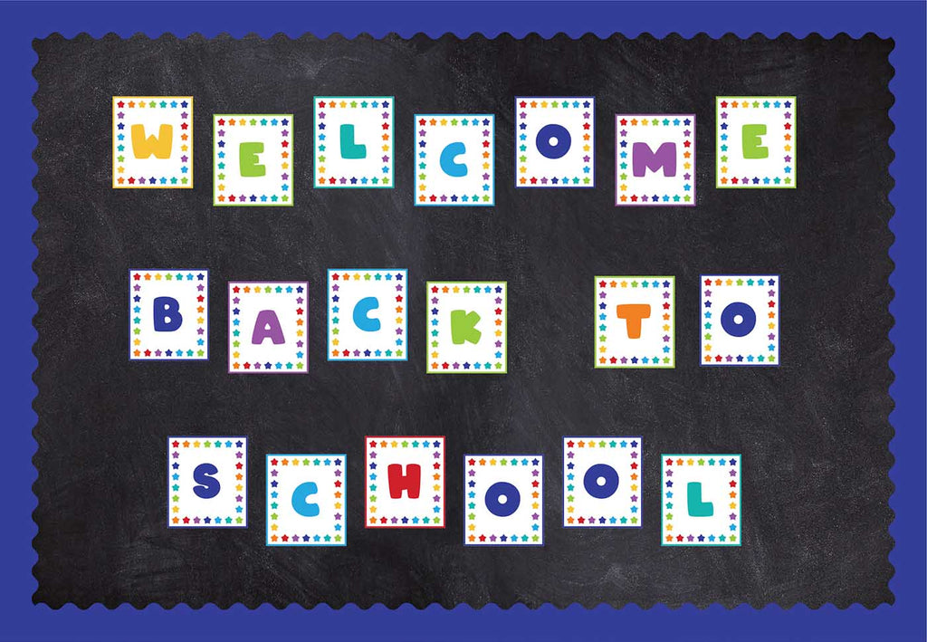 Bulletin Board Banner Letters - Print Your Own Printable Digital Library Sproutbrite