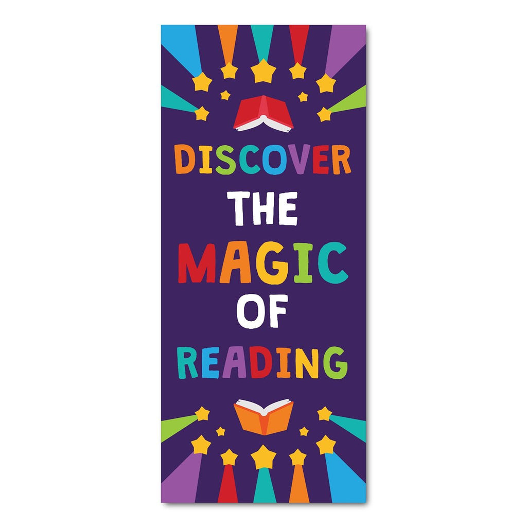 Classroom Door Decoration Kit - Discover the Magic of Reading Printable Digital Library Sproutbrite