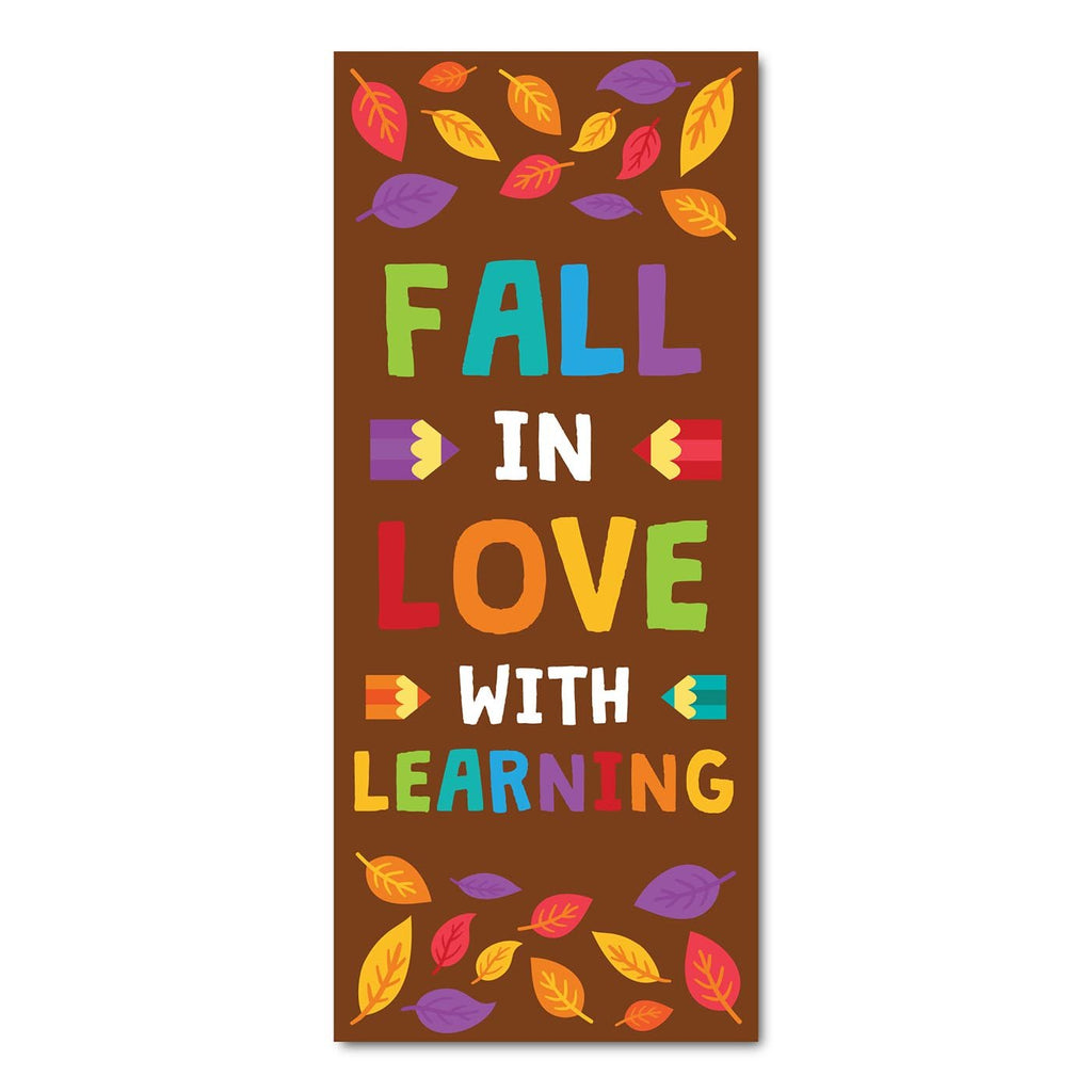 Classroom Door Decoration Kit - Fall in Love With Learning Printable Digital Library Sproutbrite