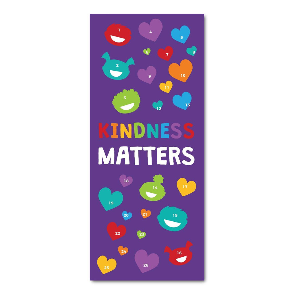 Classroom Door Decoration Kit - Kindness Matters Printable Digital Library Sproutbrite