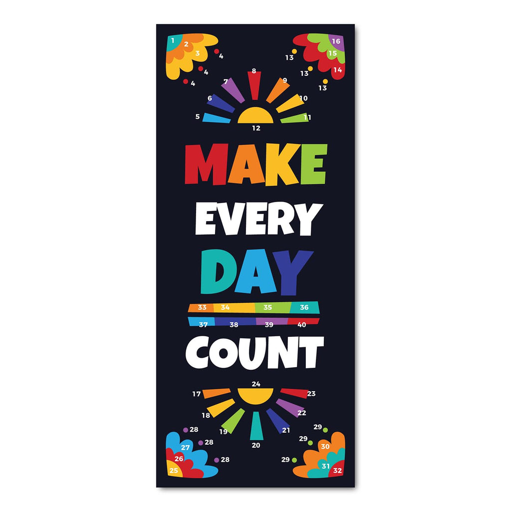 Classroom Door Decoration Kit - Make Every Day Count Printable Digital Library Sproutbrite
