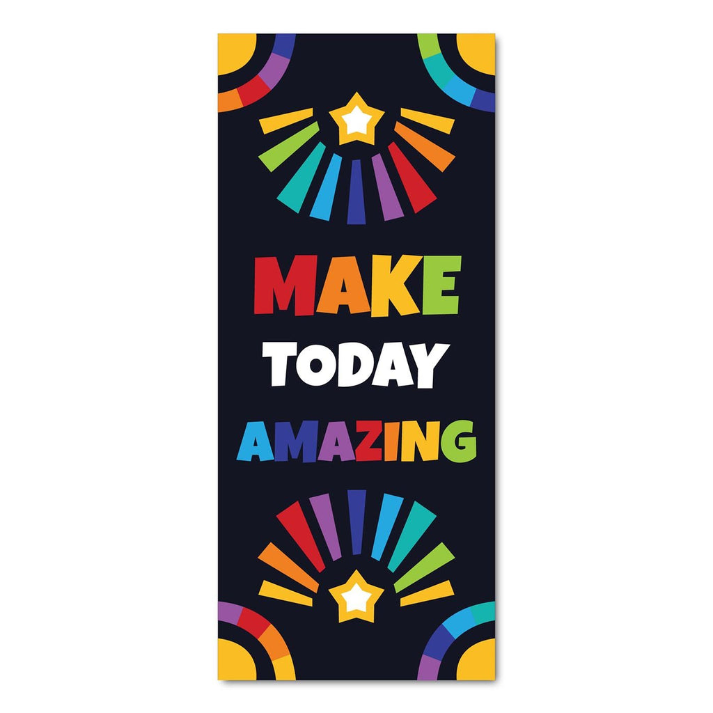 Classroom Door Decoration Kit - Make Today Amazing Printable Digital Library Sproutbrite