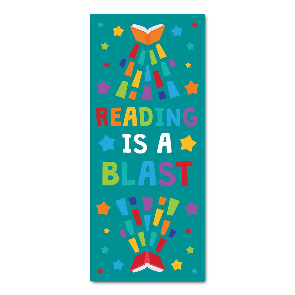 Classroom Door Decoration Kit - Reading is a Blast Printable Digital Library Sproutbrite