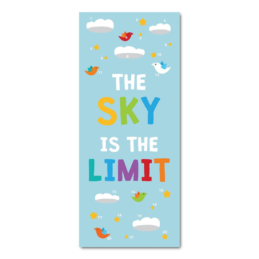 Classroom Door Decoration Kit - The Sky is the Limit Printable Digital Library Sproutbrite