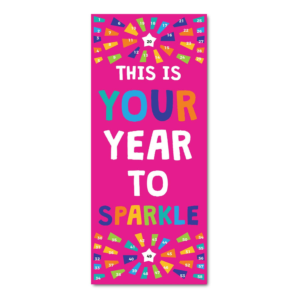 Classroom Door Decoration Kit - This is Your Year to Sparkle Printable Digital Library Sproutbrite