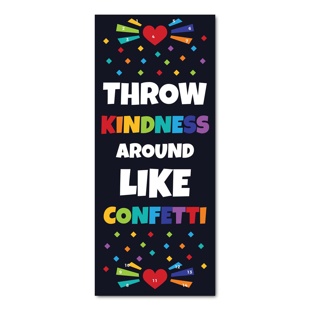 Classroom Door Decoration Kit - Throw Kindness Around Like Confetti Printable Digital Library Sproutbrite