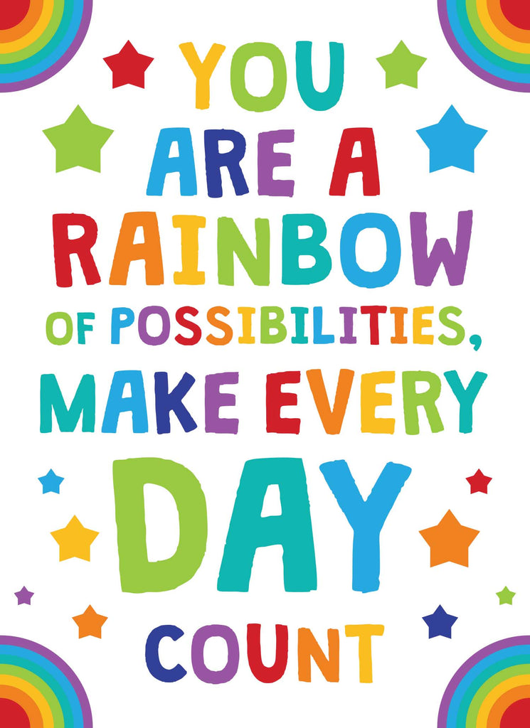 You are a Rainbow of Possibilities - Print Your Own Posters Printable Digital Library Sproutbrite