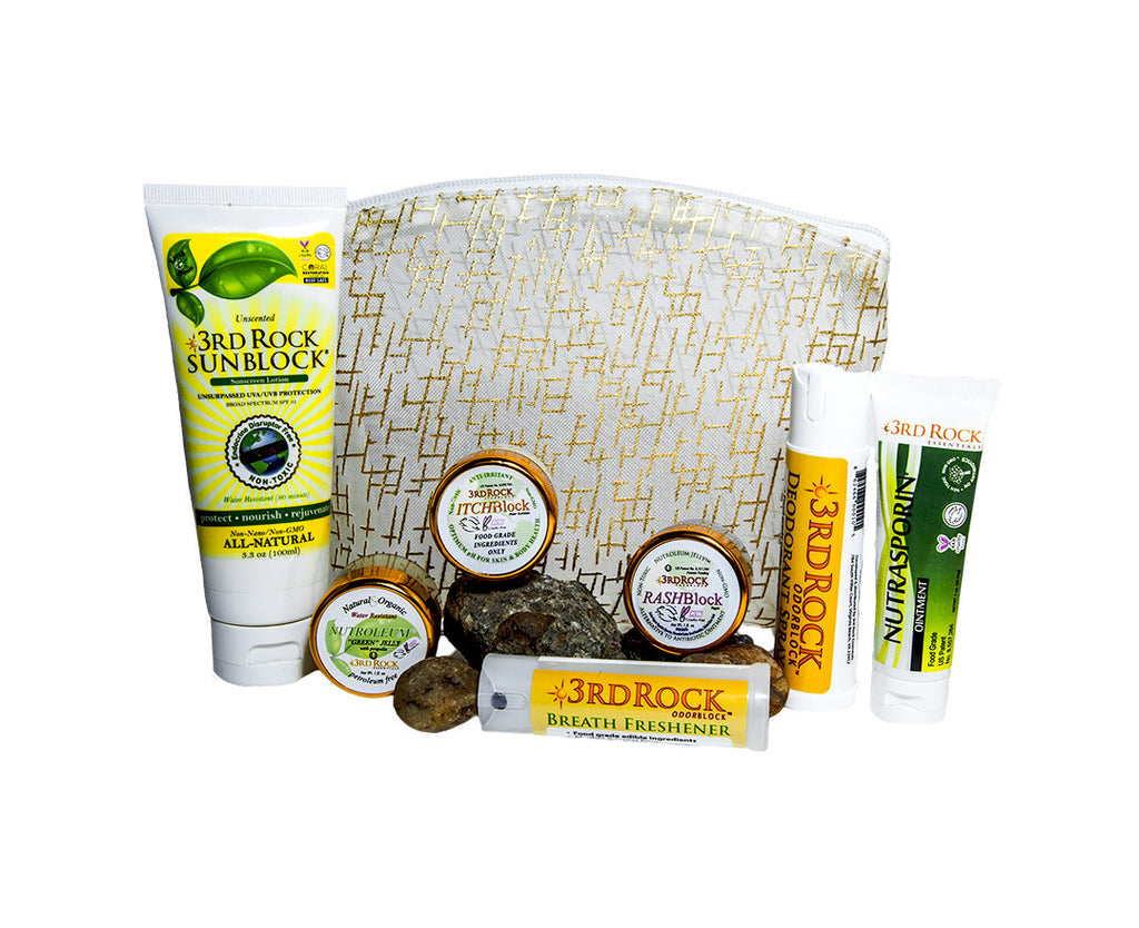 All Natural Skin Care Gift Set