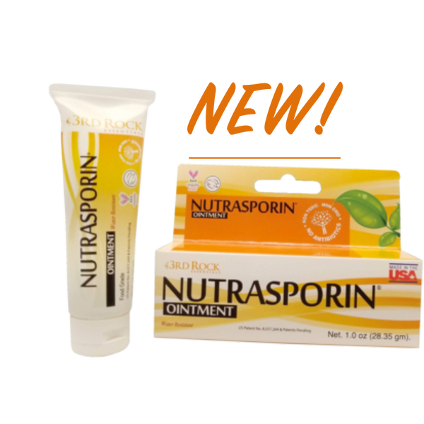 NEW - All Natural First Aid Ointment Nutrasporin® 100ppm Silver Gel - Water Resistant