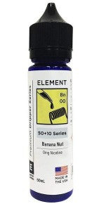 Element - Banana Nut eLiquid 50+10 Series