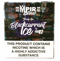 Blackcurrent Ice By Empire E-Liquid (3 x 10ml)